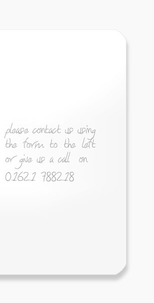 please contact us using the form to the left or give us a call on 01245 362999